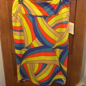 Bright Multicolored LulaRoe skirt!!!❤️💛💚💙